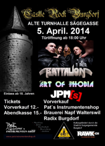 Flyer CastleRockBurgdorf 2014