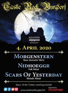 Fyler CastleRockBurgdorf 04.04.2020. Organinsiert von ROCKPOINT.